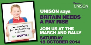 TUC rally 18 Oct 2014