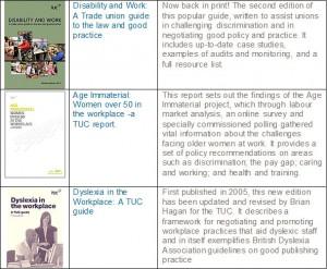 tuc-publications