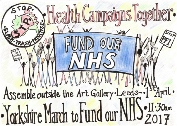 NHS YORKSHIRE MARCH