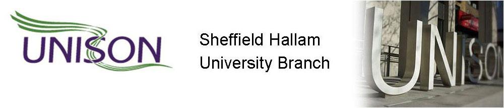 UNISON Sheffield Hallam logo