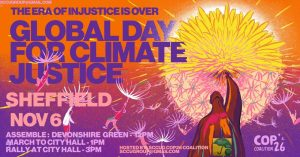 Global Day Climate Justice march